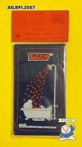 ZIGGY-BY-TOM-WILSON-POCKET-TELEPHONE-INDEX-ORIGINALS-1982-AUGURI-MONDADORI-NUOVO