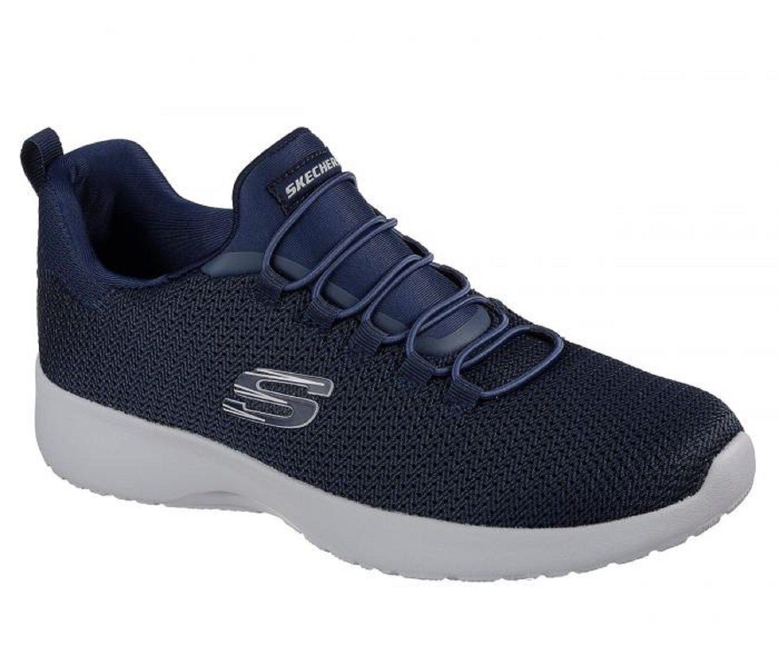 Skechers Womens Dynamite 12119 NVY Memory Foam Slip On Casual Shoes