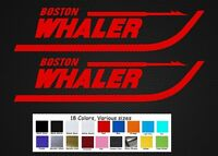 Boston Whaler Boats Decal Set Stickers 11 Fishing Baitcaster Swim Bait Outboard