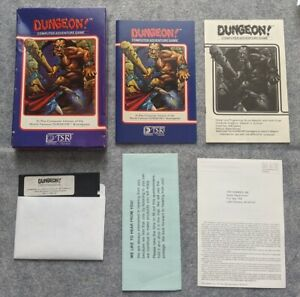 Dungeon-Apple-II-TSR-Hobbies-rare-early-vintage-computer-game-1982-Dungeon