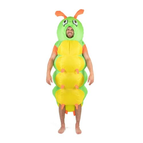 Adult Bodysocks® Inflatable Caterpillar Insect Bug Funny Fancy Dress Costume
