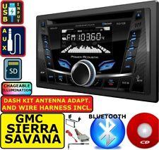 Gmc Chevy Sierra Silverado Truck Savana Van Cd Usb Aux Car Radio Stereo Pkg