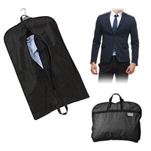 Suit Dress Coat Garment Storage Travel Carrier Bag Cover Hanger Protect 100*60cm
