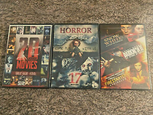 40-Horror-Movies-on-3-DVD-Sets-Full-Moon-and-More-Puppet-Master-NEW-SEALED