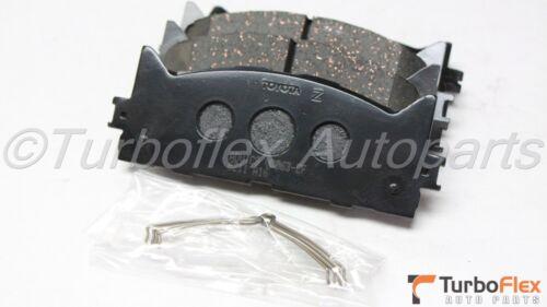 Toyota Camry 07-17 Avalon 08-15 Front Ceramic Brake Pads Genuine 04465-AZ116