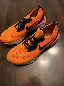 New-Nike-Epic-React-Flyknit-Running-Shoes-Copper-Flash-Kids-Size-7Y-943311-800