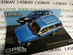 OPE49R-voiture-1-43-IXO-eagle-moss-OPEL-coll-REKORD-E2-Caravan-break-1982-1982