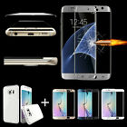 For Samsung Note 7 S6/S7 Edge/+ Full Cover Tempered Glass Screen Protector+ Case