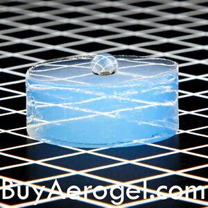 Sample Hydrophobic Aerogel Disc 2.7 cm x 0.7 cm - For ...
