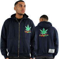 Dirty Money Rasta Marijuana Leaf Just Hit It Kush Hoodie Is Hip Hop Time Weed