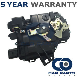 Rear-Left-Door-Lock-Actuator-For-Seat-Skoda-VW-Solenoid-Locking-Relay