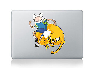 """Adventure Time with Finn and Jake Apple 13""""/15""""/17"""" Air/Pro/Retina sticker"""