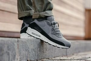 quality design 18295 5d906 Image is loading Nike-Air-Max-90-Essential-Black-White-Grey-