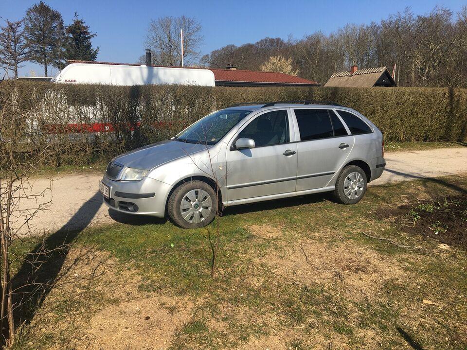 Skoda Fabia, 1,4 16V 80 Ambiente Combi, Benzin