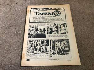 CAPTAIN GEORGES COMIC WORLD #?? vintage fanzine magazine TARZAN