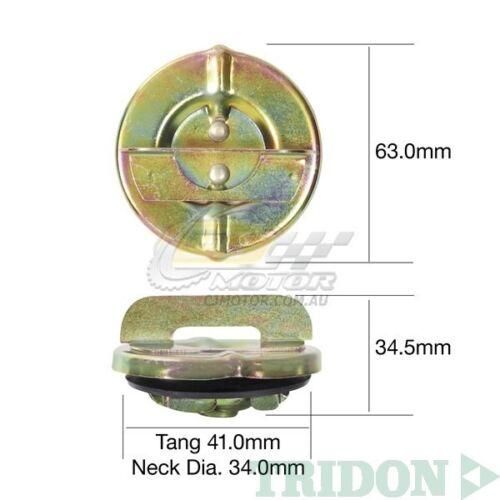 TRIDON FUEL CAP NON LOCKING FOR Toyota Hiace Diesel LH51-LH71 84-89 2.4L TFNL207