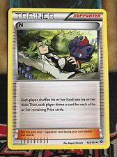 Pokemon N 105/124 XY Fates Collide Uncommon NM
