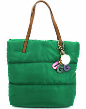 Authentic NWT Ugg Puffer Quilted Nylon Tote Mini Blaise Beetle Green WTE078