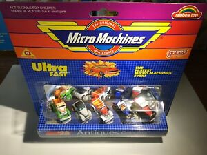 Galoob-Micro-Machines-28-Antiques-Collection-Very-Rare-Colours-1988