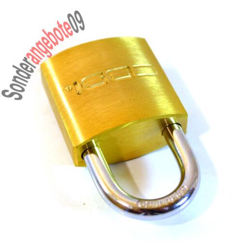 CODI Bügelschloss Vorhängeschloss Sicherheitsschloss Koffer Stahlbügel Schloss