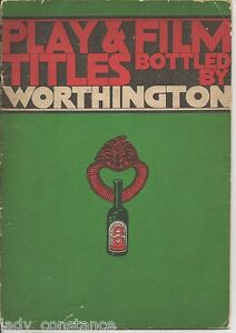 Play Film Titles Worthington Deco Advt 1930s Cuttings Ohsa2bs1-08004748-386033509