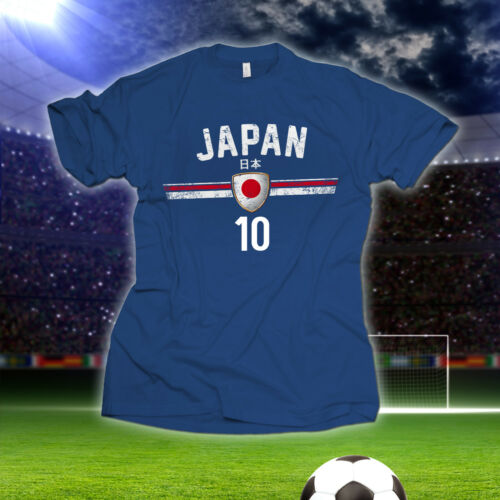 Football Wm T-shirt numéro 10 Coupe du monde 2018 pays maillot Fan Article