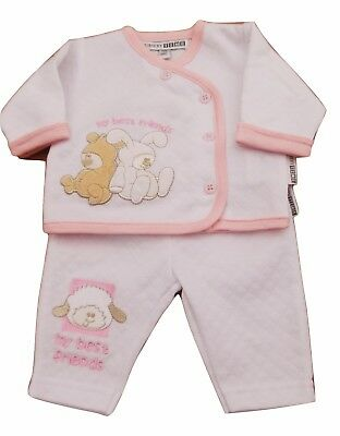 Tiny Baby Premature 3 Piece Little Ted Layette Set