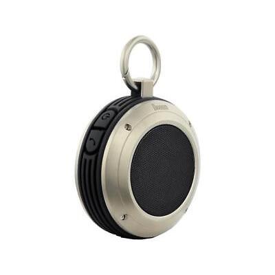 Divoom Voombox Travel Water Resistant Bluetooth Portable Speaker, Black, Voombox