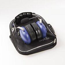 Aviation GA Headset ~ Blue (Dual Plug, MP3 Plug, Comfortable Gel) Made In Korea