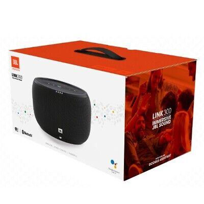 JBL Link 300 Black Bluetooth Speaker BLK