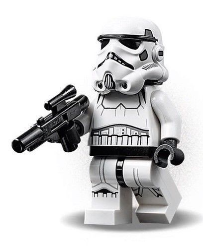 LEGO STAR WARS Stormtrooper  MINIFIG new from Lego set 75229 New