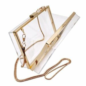 Elegant-Women-Lady-Handbag-Evening-Clutches-Shoulder-Acrylic-Part-Bags-Purse