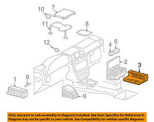 mercedes oem 16 18 g550 electrical fuse relay box 4639001702 ebay rh ebay com