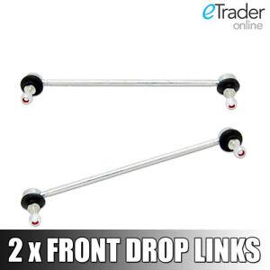 PEUGEOT-207-FRONT-ANTI-ROLL-BAR-DROP-LINK-STABILISER-LINKS-X2-PAIR-NEW-ANTIROLL