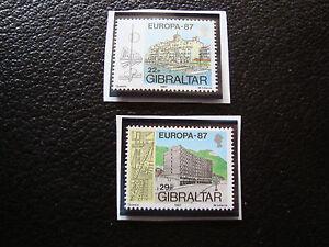 Gibraltar-Briefmarke-Yvert-Und-Tellier-N-530-531-N-A22-Briefmarke