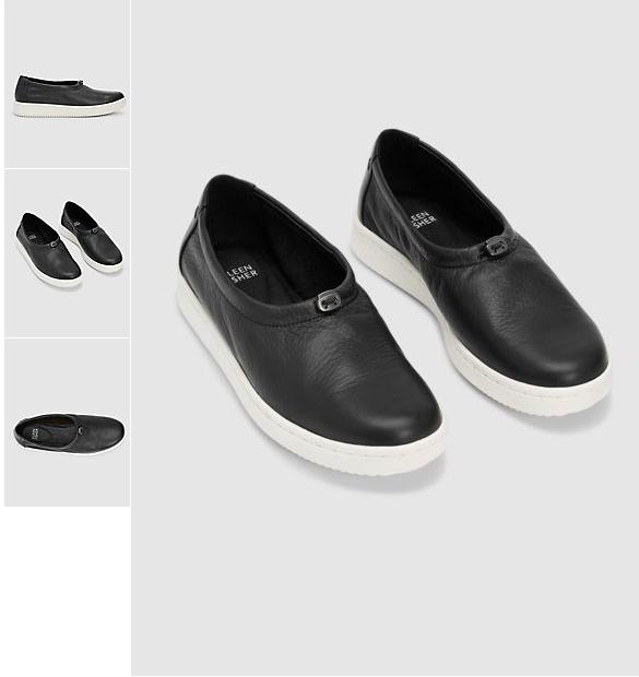 NEW Eileen Fisher Sydney nero Leather scarpe da ginnastica Dimensione 7.5 MSRP  195