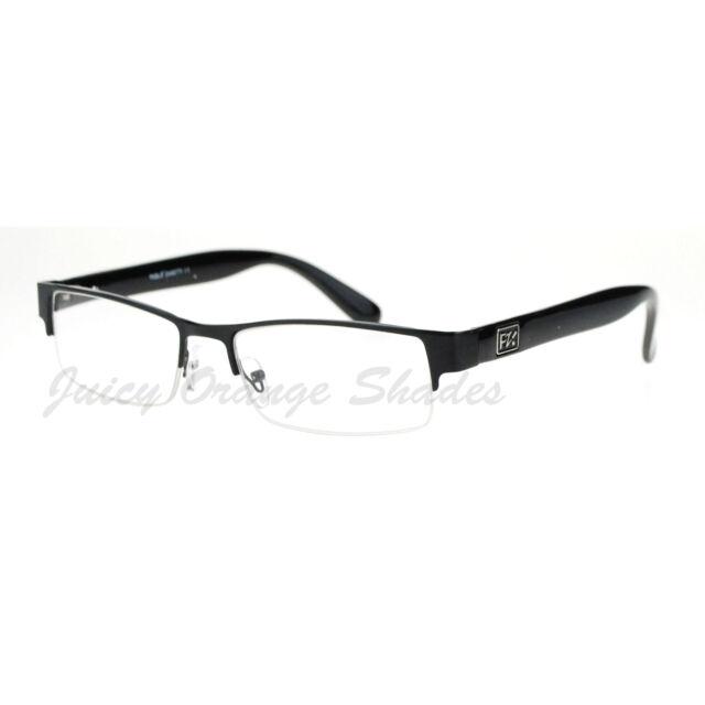 Pablo Zanetti Reading Glasses Half Rim Rectangular Unisex 56-17-140