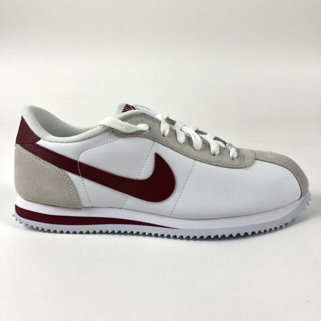 reputable site 32724 2a64b Nike Cortez Basic 06 Mens Leather Shoes Red White Size 8.5 Retro 316418-109