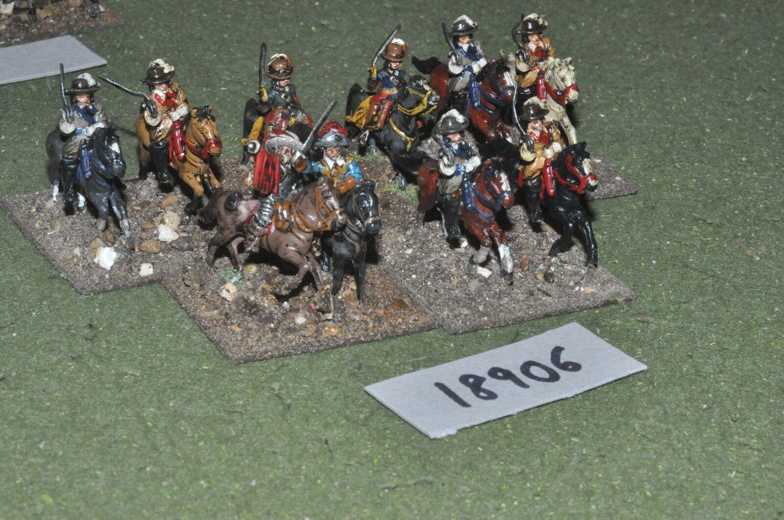 25mm ECW   english - civil war cavalry 10 cavalry - cav (18906)