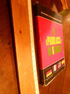 """LIBRO:DIZIONARIO INTERNAZIONALE DEGLI INSULTI - LE """"PAROLACCE"""" IN 6 LINGUE"""