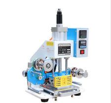 220v 8090mm Pneumatic Hot Foil Stamping Machine Motor Gilding Press Machine
