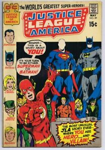 Justice-League-of-America-89-ORIGINAL-Vintage-1971-DC-Comics