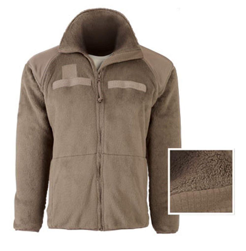 Us Army geniii level 3 Polartec Fleece chaqueta tan499 tan499 tan499 ar670 multicam large Long ee35f2