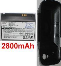 Coque + Batterie 2800mAh type AB653850CA AB653850CC Pour Samsung Nexus S 4G