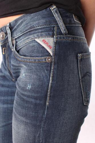 Blau NEU DAMEN JEANS REPLAY WX670 072 213 009 Nadie Hose Denim Trousers