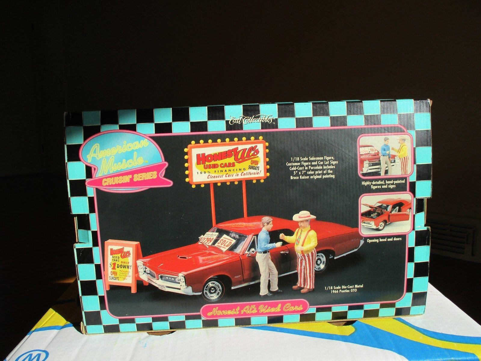 1 18 Die Cast & Porcelana Ertl Diorama  honesto al de coches usados  MIB difícil de encontrar