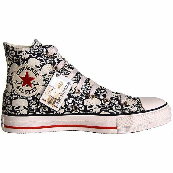 CONVERSE BLL STBR CHUCKS EU 39,5 UK 6,5 SKULL LIMITED EDITION TOTENKOPF 1U564