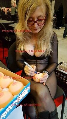 Includes display cube LISA ANN signed//autographed BOOB BALL w// PROOF