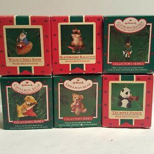 Vintage-Hallmark-1980-039-s-Keepsake-Ornaments-Collector-039-s-Series