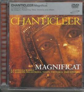 Chanticleer-Magnificat-2001-DVD-Audio-Rare